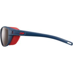 Julbo Camino Spectron 4 Sunglasses Dark Blue/Red-Brown Flash Silver